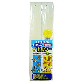 害虫捕獲粘着紙 トルシー S100P 黄色捕虫紙 5×35cm 100枚 − 一色本店