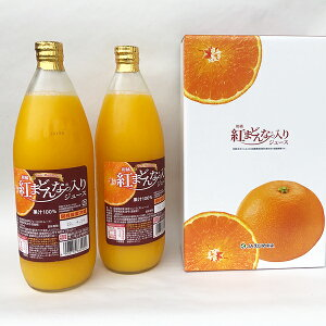 送料無料 - 紅まどんな入りジュース(天然果汁100%ストレートジュース)2本(化粧箱入) − えひめ飲料