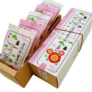 松山銘菓 道後夢菓子噺 (どうごむかしばなし) 白鷺3個・椿2個 詰合せ 5個/箱 − 一六本舗