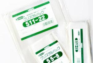 クリスタルパック S10-35 透明OPP袋 サイドシール・粘着テープ無し 10cm×35cm 100枚