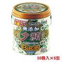 天然蚊とり線香 夕顔 Lサイズ 安全線香皿付き ビッグ缶 50巻/缶×6 − 紀陽除虫菊