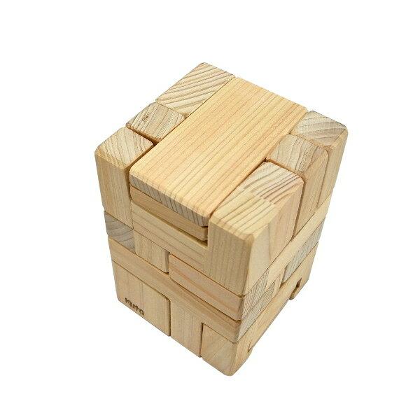 木組みパズル 変身ロボ4 R60H-4 (6パーツ)− くた工房