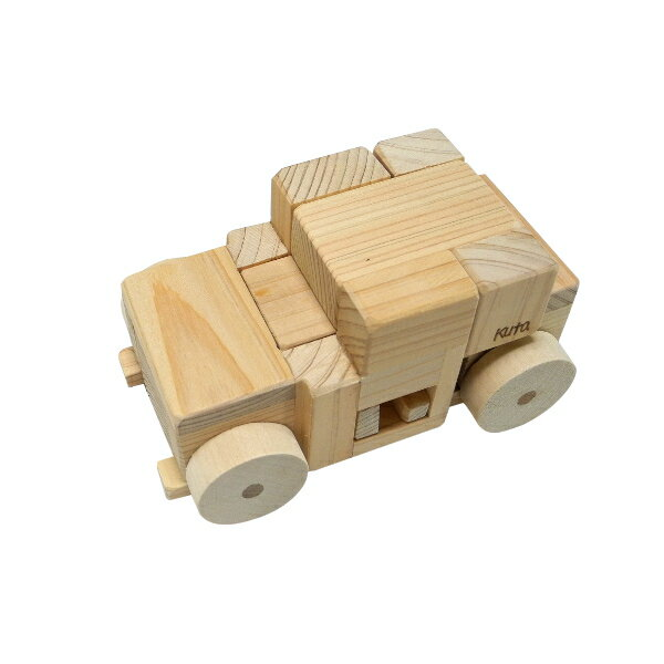 木組みパズル ロボジくん(変身型) RG60-H (7パーツ)− くた工房
