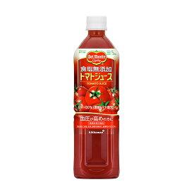 キッコーマン飲料 デルモンテ 食塩無添加トマトジュース 900ml×12本 ケース