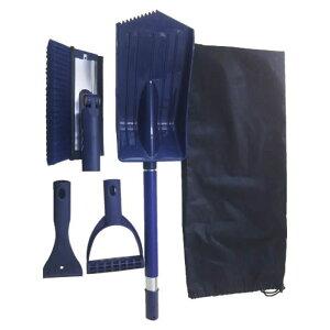 (T)コンパル スノーブラシ・スコップセット収納袋付 030013