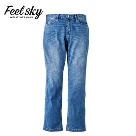 FeelSky Mensスーパーストレッチリサイクルデニム M-1