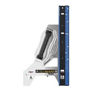 シンワ測定 丸鋸ガイド定規エルアングルPlusアジャスト 45cm併用目盛