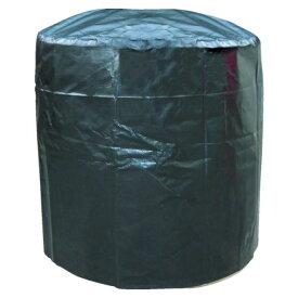 (T)萩原 J-Bag(ジェイバッグ)大型土のう丸型カバー Bタイプ 天井部防水型 Φ1.2m×高さ1.1m JBCB
