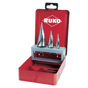 (T)RUKO 2枚刃スパイラルステップドリル 30mm ハイス 101052