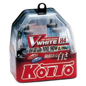 小糸 Vホワイトバルブ H4 P0746W