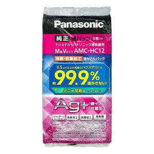 Panasonic(パナソニック) 掃除機用紙パック3枚入 M型Vタイプ AMC-HC12