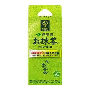 伊藤園 おーいお茶お抹茶スティック 1.7G×6本