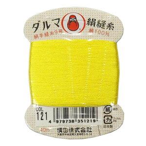 横田 ダルマ 絹手縫糸 COL.121