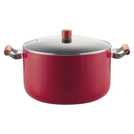 IHフッ素大型鍋 両手鍋32cm
