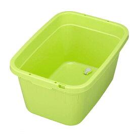 新輝合成 角型ジャンボタブ 60型 グリーン