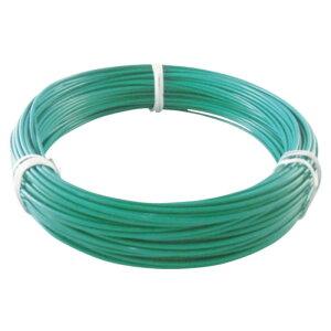 (T)TRUSCO(トラスコ)カラー針金 ビニール被覆タイプ 2.0mmX25m 緑