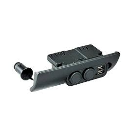 カーメイト 増設電源ユニット ハイエースH200系用 ブラック | 車種専用設計 NZ545
