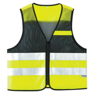 (T)ミドリ安全 高視認性安全ベスト 蛍光イエロー