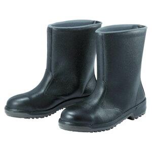 (T)ミドリ安全 安全半長靴 24.5cm