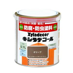 大阪ガスケミカル カンペキシラデコール 0.7L オリーブ