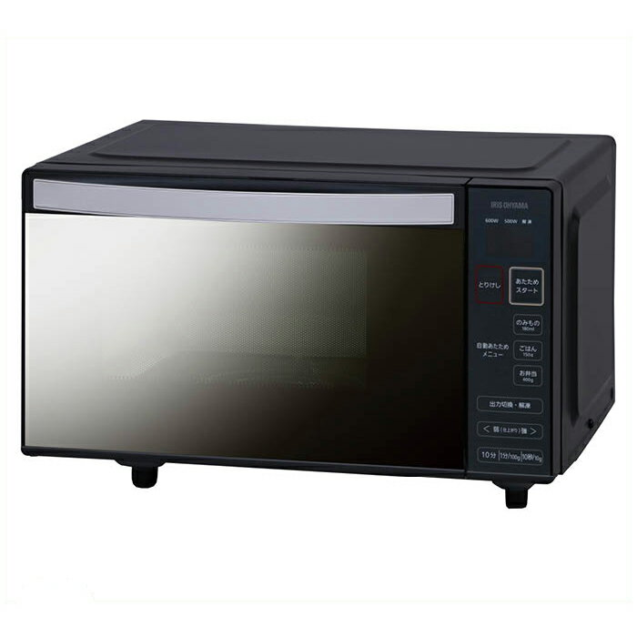 アイリスオーヤマ 電子レンジフラットミラーガラス50Hz IMB-FM18-5
