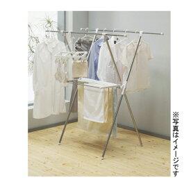 (★)ステンレスX型室内物干 X-006