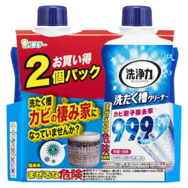 エステー 洗浄力洗たく槽クリーナー2P 550g×2個