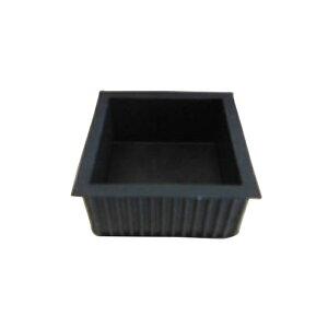清水 エラストマーゴム脚 角型 45 ブラック