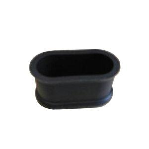 清水 エラストマーゴム脚 小判型22×44 黒