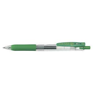 ジェルボールペン サラサクリップ0.7 [緑] 0.7mm JJB15-G