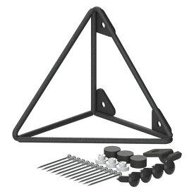 平安伸銅工業 トライアングルS黒 WPK-64