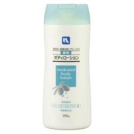 熊野油脂【PB】 薬用ボディローション オリーブ&ヒアルロン250g