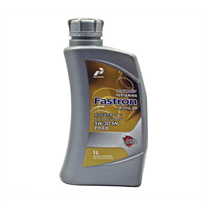 PERTAMINA プルタミナ ファストロンゴールド 4サイクルガソリンエンジン油 SN 5W30 1L