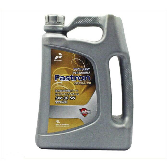 PERTAMINA プルタミナ ファストロンゴールド 4サイクルガソリンエンジン油 SN 5W30 4L