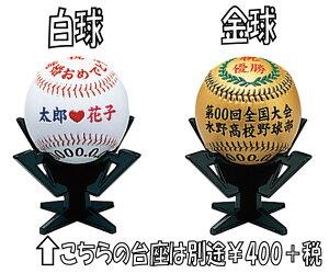思い出を!! 野球記念ボール★記念品★贈り物★卒団★思い出★