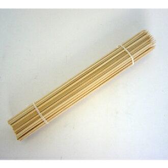 Bamboo skewers round 24 cm 100 PCs