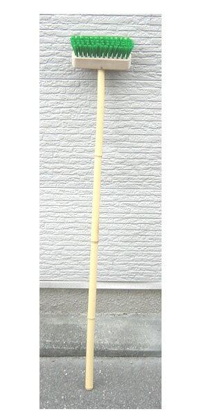 ナイロン製 デッキブラシ (竹柄)
