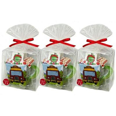金鵄園・林檎はちみつ焙じ茶5P(バス)×3袋セット 【送料込】 / 美しい自然や風土に囲まれた長野県。信州産の食材・郷土食やお土産を、NAGANOマルシェでご紹介。