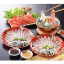 〈下関〉関とら本店・蟹とふくの紅白しゃぶしゃぶ食べ比べ