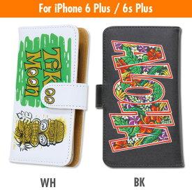 MOON EYES/ムーンアイズTiki MOON Aloha iPhone6 Plus / iPhone6s Plus フリップ ケースMOON EYES/ムーンアイズ