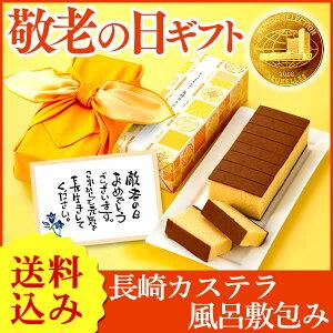 敬老の日 和菓子 長崎カステラ ふわり hn500 KR1P