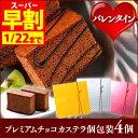 【バレンタイン】【早割】【義理チョコ】チョコカステラ個包装4個入り VDSI