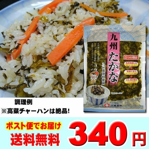 九州たかな220g 高菜漬 太陽漬物 きざみ高菜 送料無料 ポイント消化に!