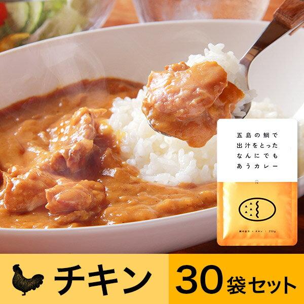 【訳あり】五島の鯛で出汁をとったなんにでもあうカレー(チキン)30袋セット