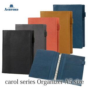 ASHFORD 本革 システム手帳 A5サイズ キャロル 3096 (アシュフォード)