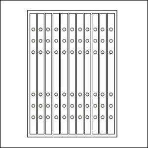 ASHFORD A5サイズシステム手帳用リフィル 補強シール