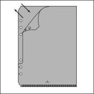ASHFORD A5サイズシステム手帳用リフィル ファイルケース (シールインデックス付き)