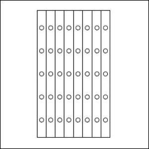 ASHFORD MICRO5 マイクロファイブリフィル(ミニ5穴サイズ) 補強シール