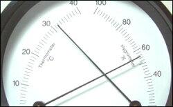 バリゴラウンドシリーズ温湿度計3