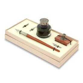 ボルトレッティ Bortoletti 木製ペン軸 つけペン ギフトセット No51 ガラスペン先 対応